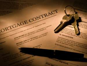 Real estate lawyer's mortgage contract